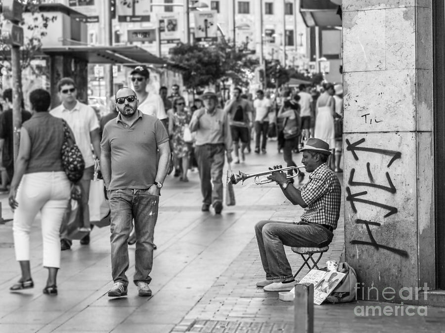 The Music Photograph by Eugenio Moya