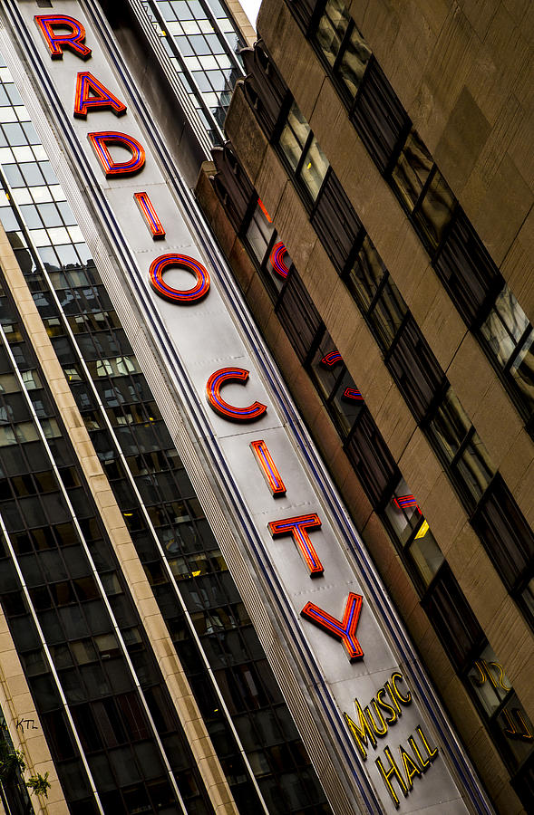 Radio City Music Hall Photograph - The Music Hall by Karol Livote