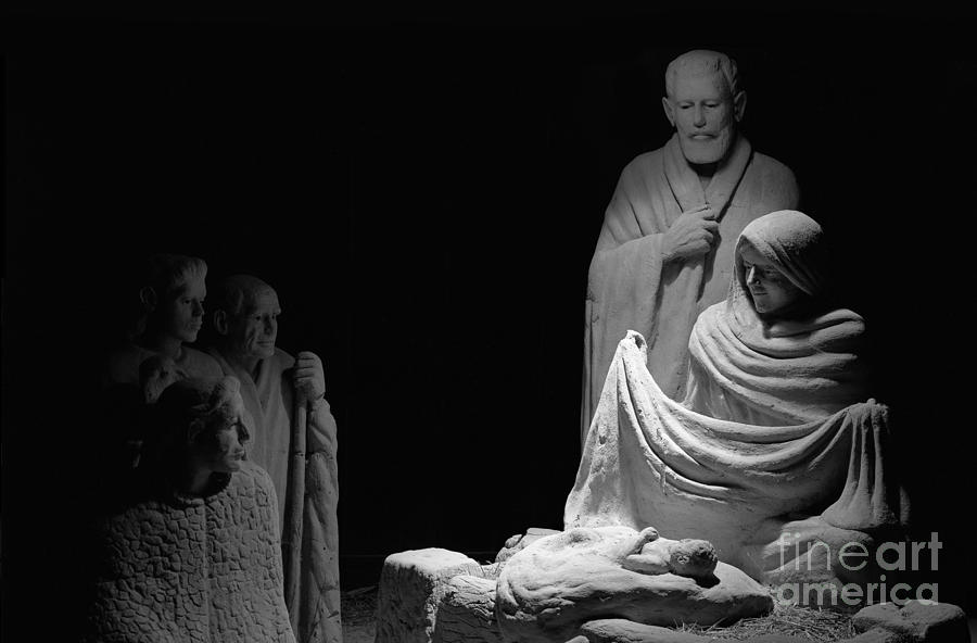 Nativity Scene Photograph - The Nativity by David Ricketts