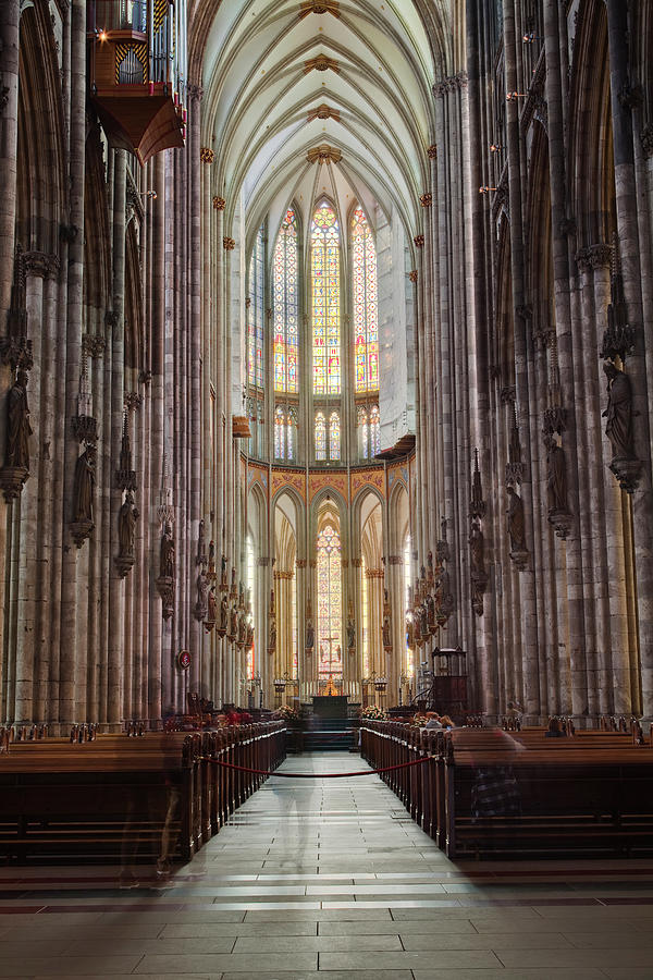 The Nave Of Cologne Cathedral Photograph by Julian Elliott Photography