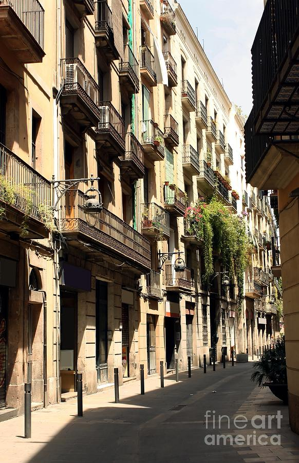 Barcelona Photograph - The Neighborhood by Sophie Vigneault