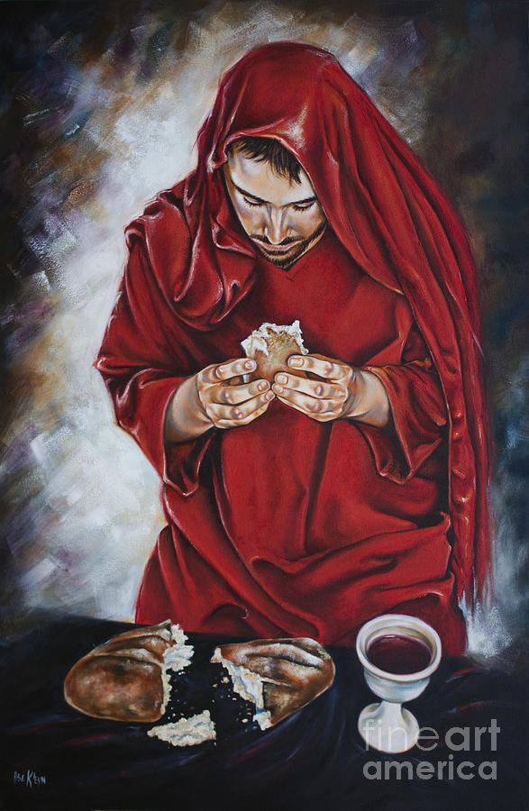 Jesus Christ Painting - The New Covenant by Ilse Kleyn