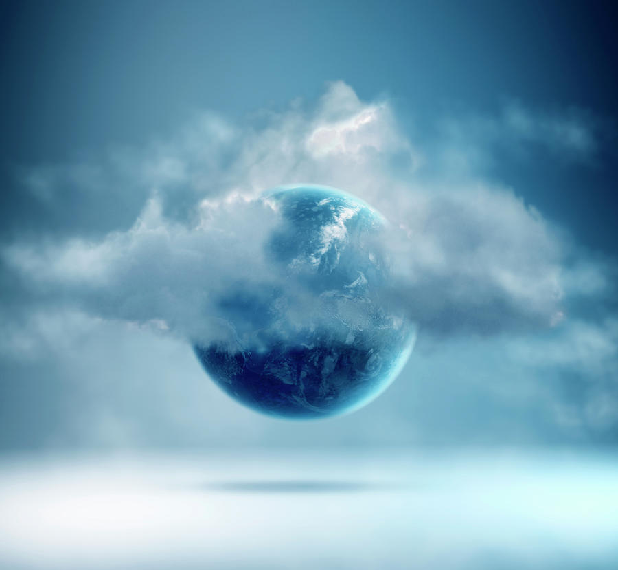 The New World Of Cloud Computing Photograph by Colin Anderson