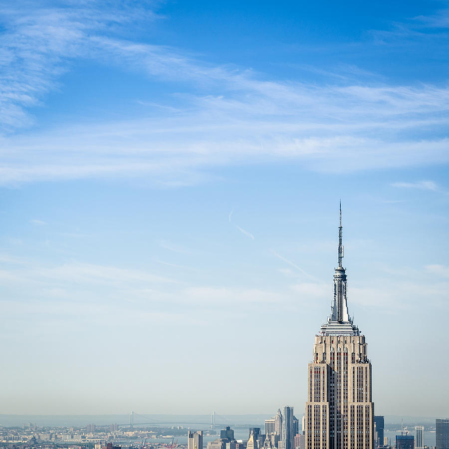 The New York City Empire State Building Photograph by Franckreporter