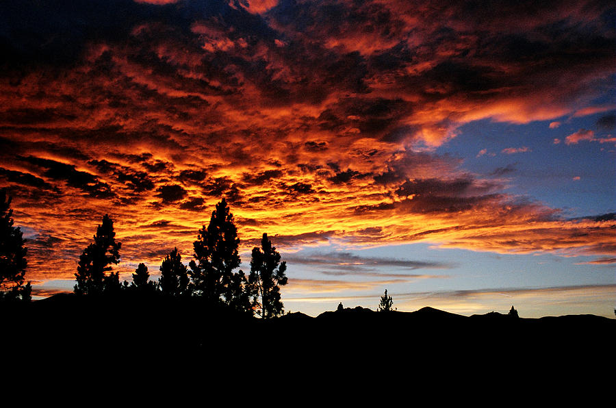 Mountain Sunset Photograph - The Next Night In June by Jim Cotton