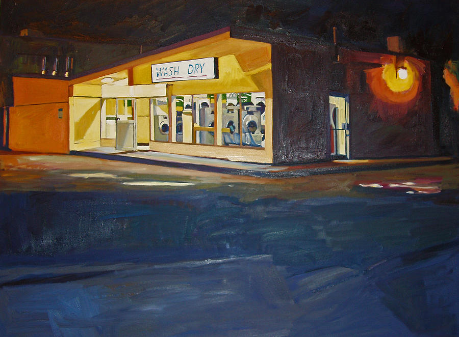 Night Painting - The Night Wash by Deb Putnam