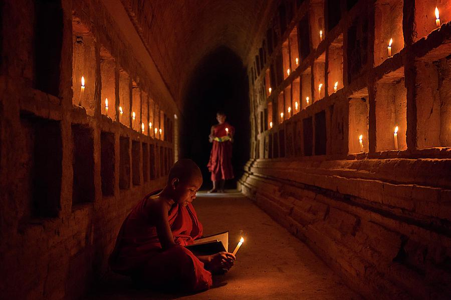 Zen Photograph - The Novices by Amnon Eichelberg