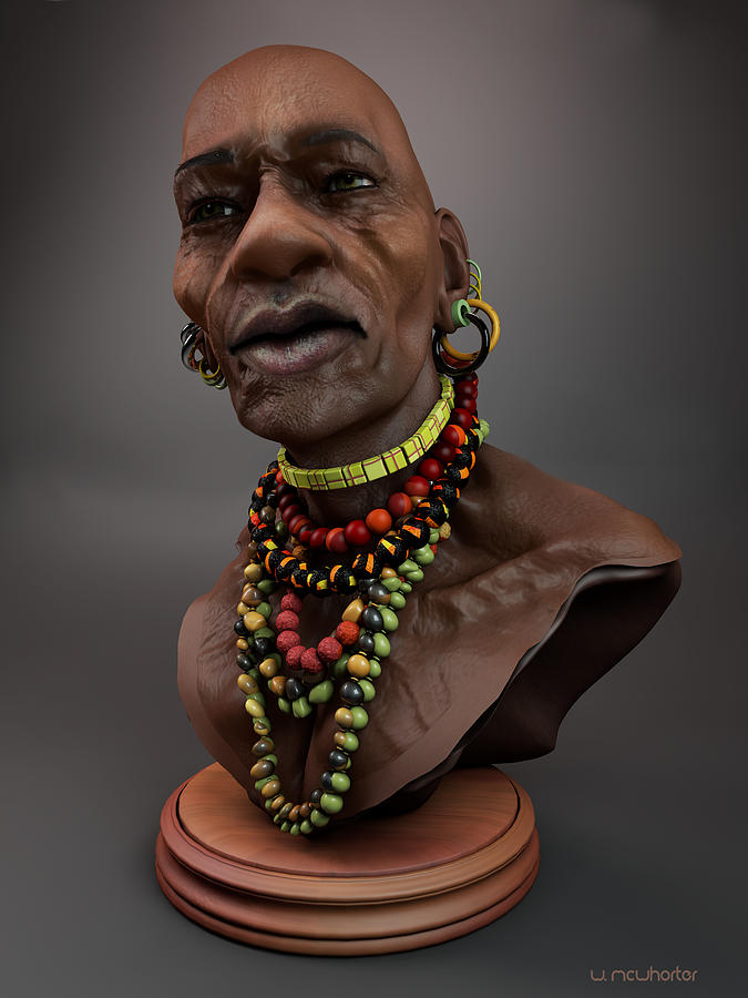 The Nubian by Williem McWhorter