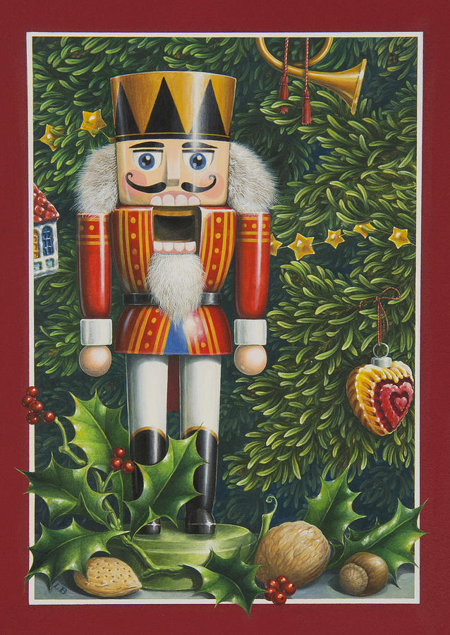 The Nutcracker Painting By Lynn Bywaters