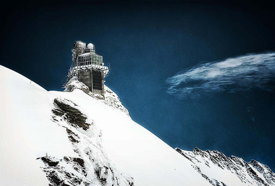 Swiss Photograph - The Observatory by Ryan Wyckoff