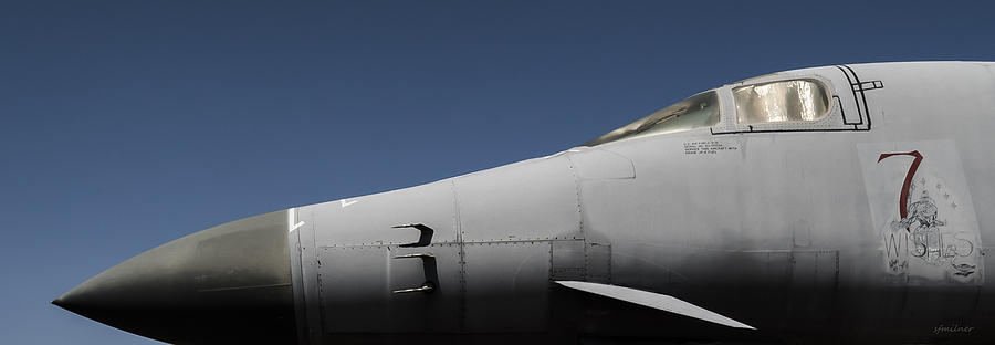 Abstracts Photograph - The Office - B-1b/cockpit/7 Wishes by Steven Milner
