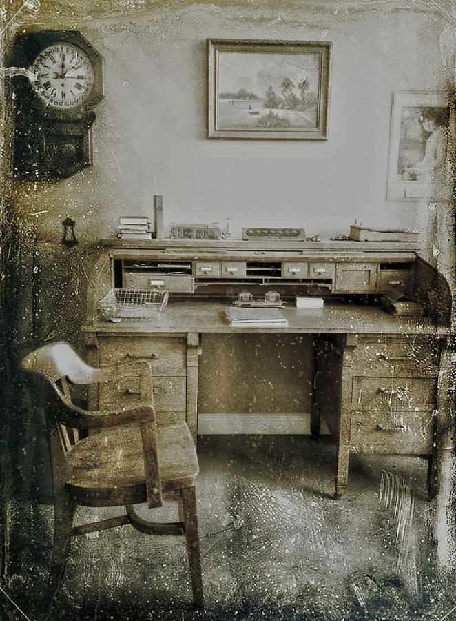Office Photograph - The Office  by Jerry Cordeiro