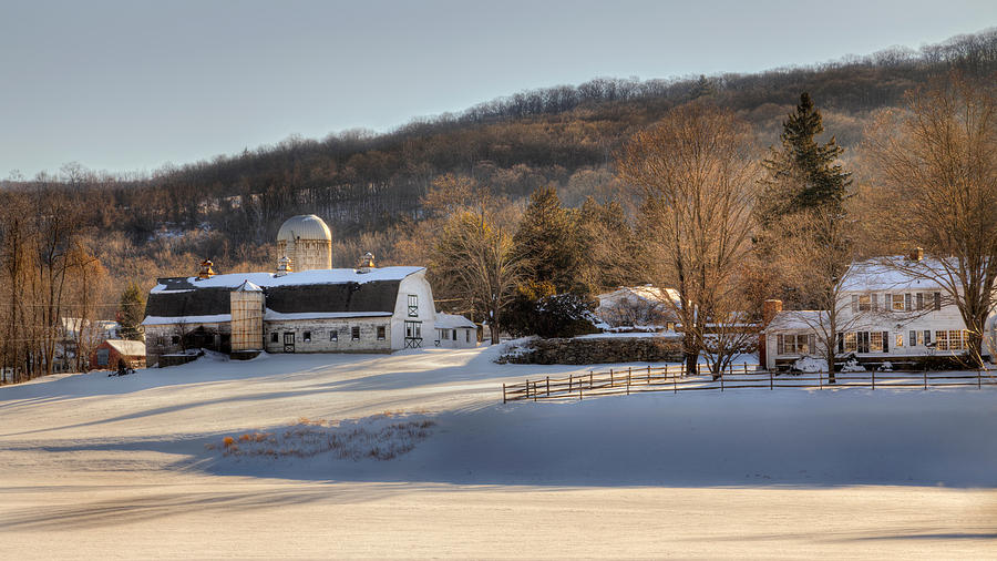 Bucolic Photograph - The Ol Homestead by Bill Wakeley