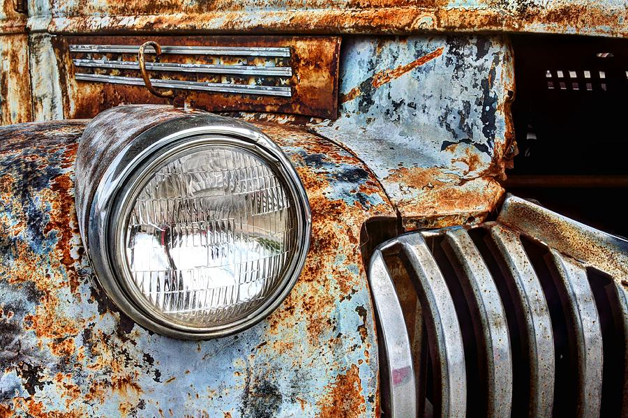Chevrolet Photograph - The Old Chevy  by JC Findley
