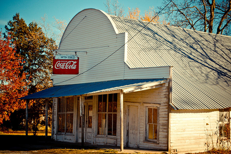 Historic Photograph - The Old Country Store by Kristy Creighton