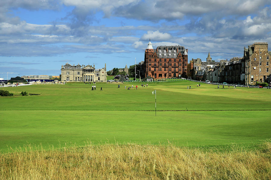 The Old Course St Andrews Photograph by David Cannon