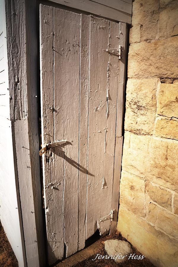 Vintage Barn Door Photograph - The Old Creaky Door By Jennifer Broadstreet Hess & Stop Door Squeaking u0026 How To Stop The Squeak In Your Floors pezcame.com
