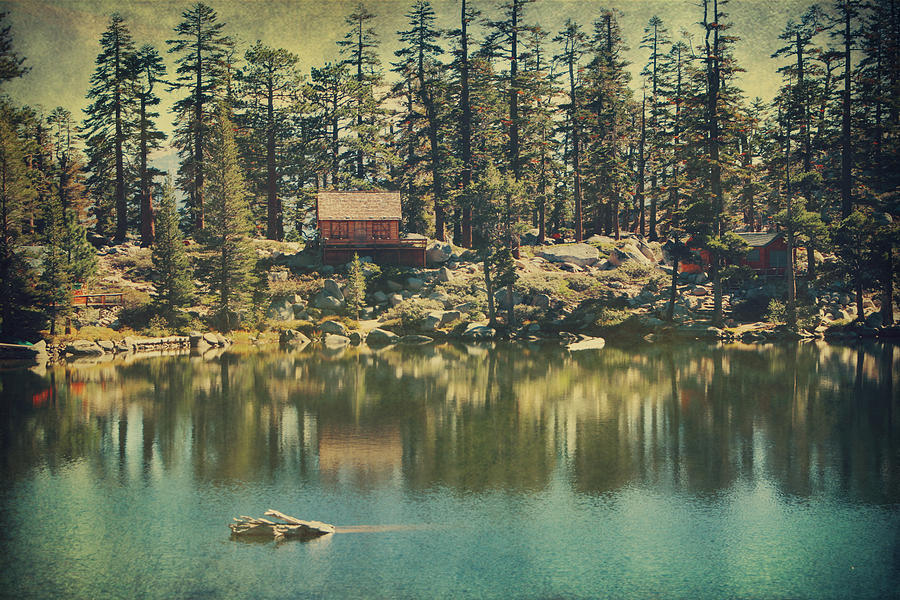 South Lake Tahoe Photograph - The Old Days By The Lake by Laurie Search