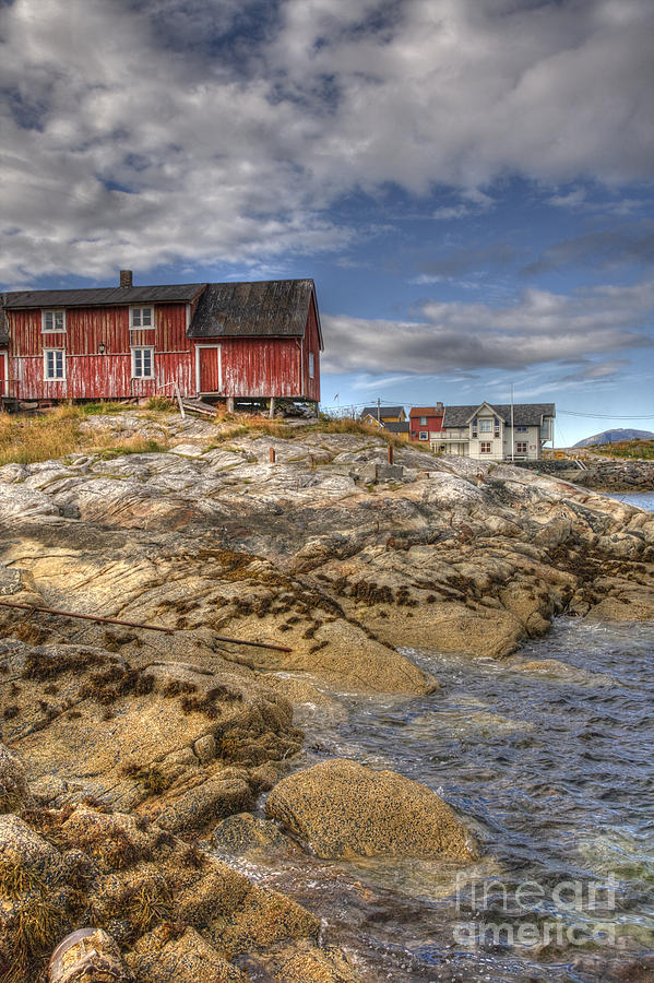 Hut Photograph - The Old Fishermans Hut by Heiko Koehrer-Wagner