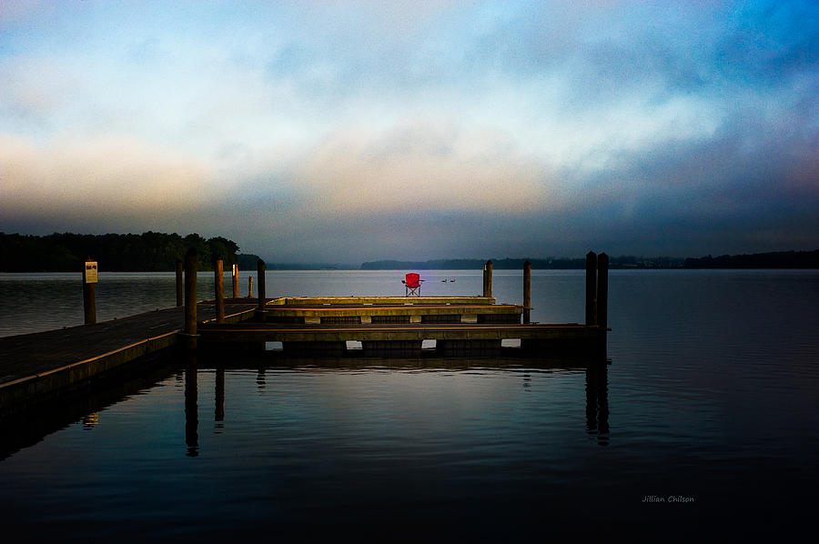 Docks Photograph - The Old Fishing Spot by Jillian  Chilson