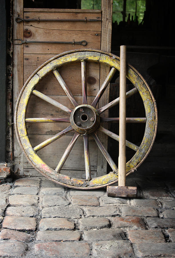 Cartwheel Photograph - The Old Forge  by Stephen Norris