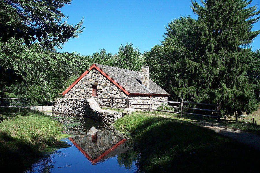 Mill Photograph - The Old Grist Mill by Georgia Hamlin