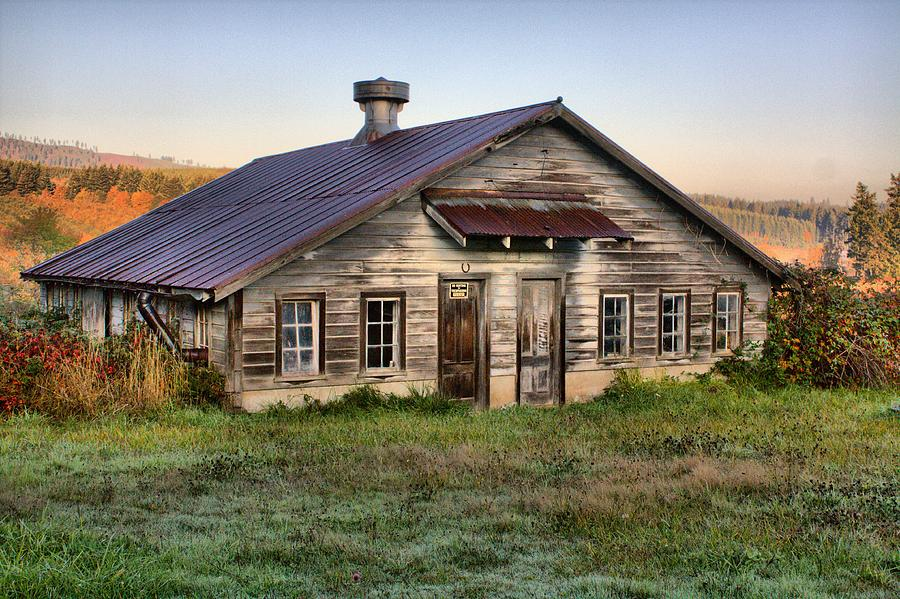 The Old Homestead Photograph by Melody Madsen