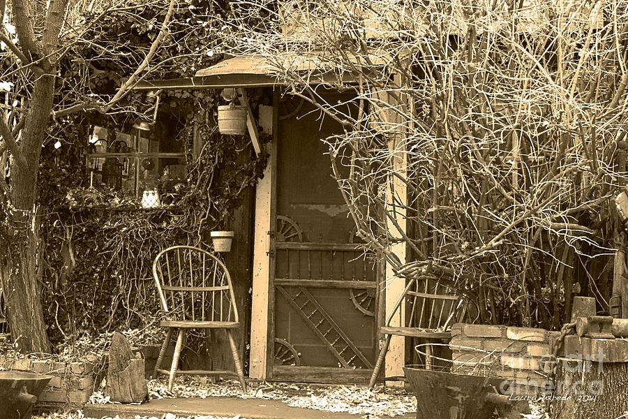 Genoa Photograph - The Old House In Genoa Nevada by Artist and Photographer Laura Wrede