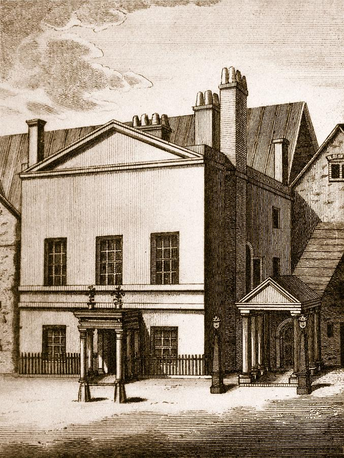 House Of Lords Drawing - The Old House Of Lords by English School