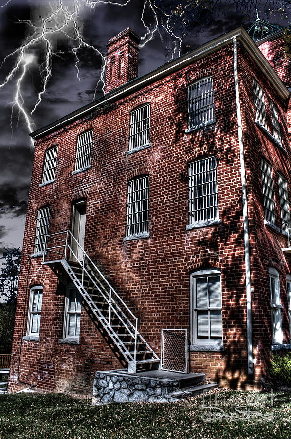 Abandoned Photograph - The Old Jail by Dan Stone