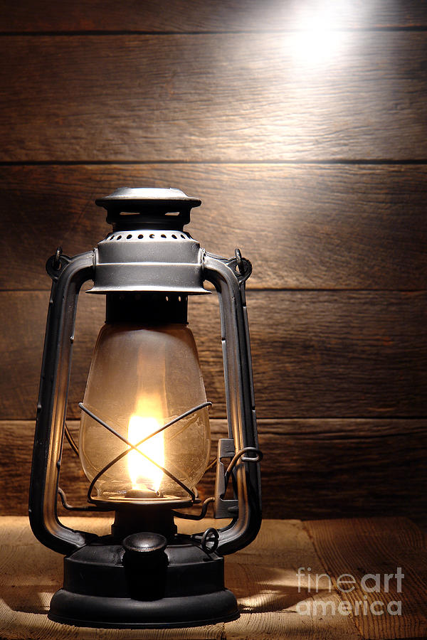 Kerosene Photograph   The Old Lamp By Olivier Le Queinec