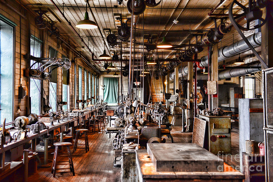 The Old Machine Shop Photograph By Paul Ward