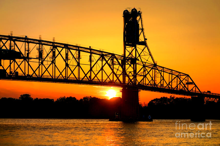Bridge Photograph - The Old Mighty Span by Olivier Le Queinec