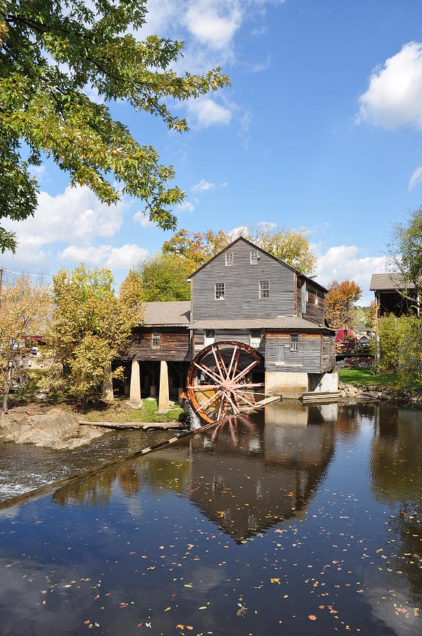 The Old Mill Photograph - The Old Mill - Lazy Summer Day by John Saunders