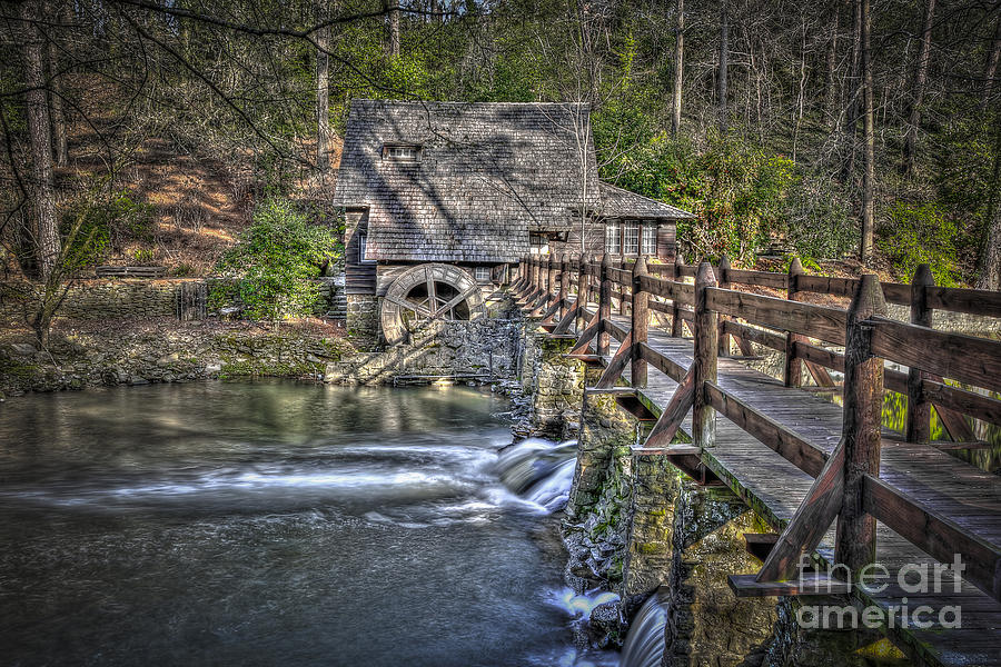 Fine Photograph - The Old Mill #1 by Ken Johnson