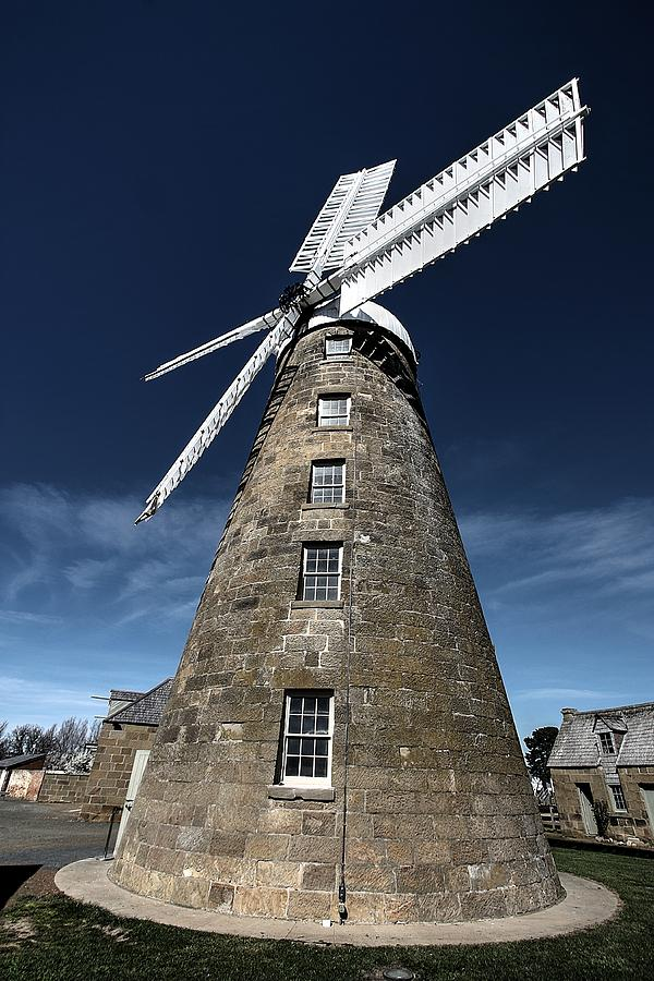 Old Photograph - The Old Mill by Ian  Ramsay