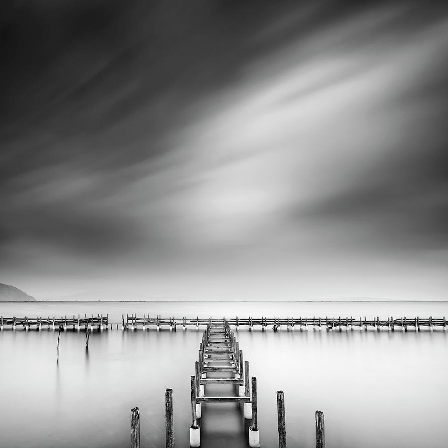 Conceptual Photograph - The Old Pier by George Digalakis