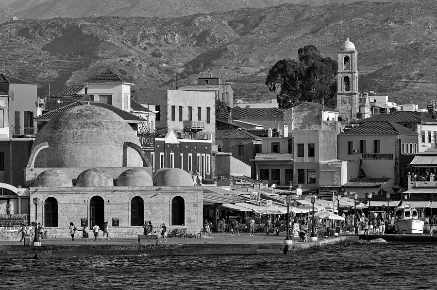 The Old Port Of Chania Photograph