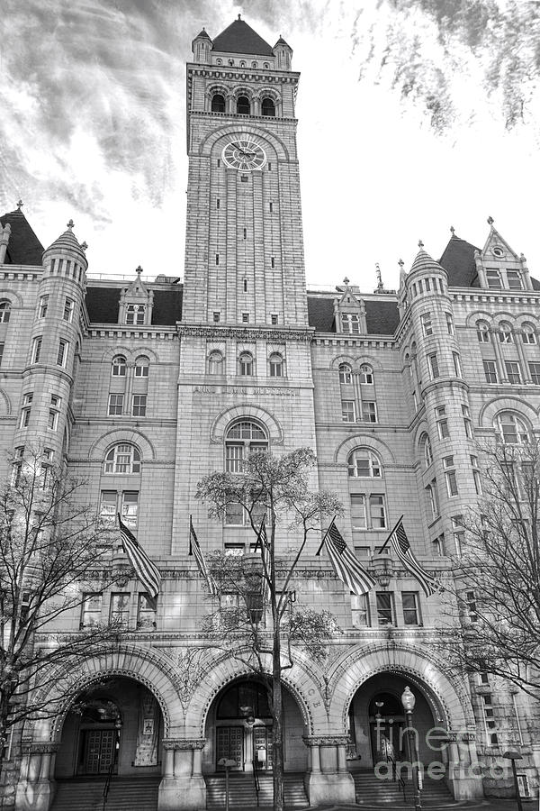 Washington Photograph - The Old Post Office  by Olivier Le Queinec