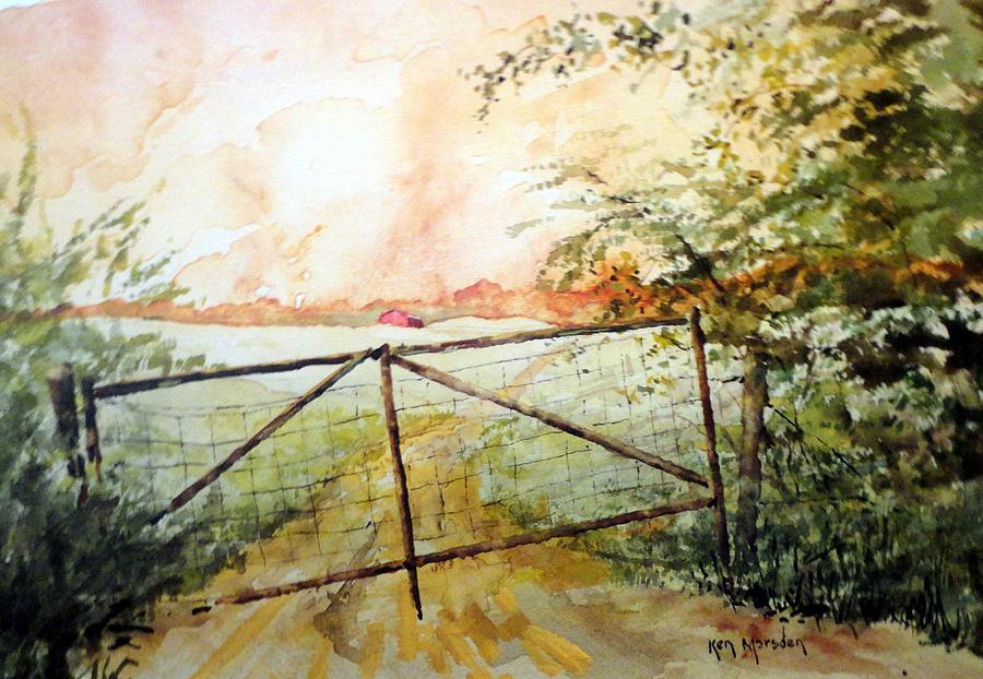 The Old Rusty Gate by Ken Marsden