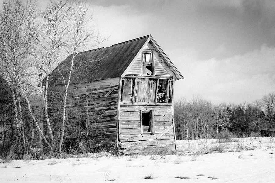 Rustic Landscape Photograph - The Old Shack by Gary Heller