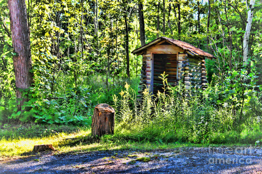 Vacation Photograph - The Old Shed by Cathy  Beharriell