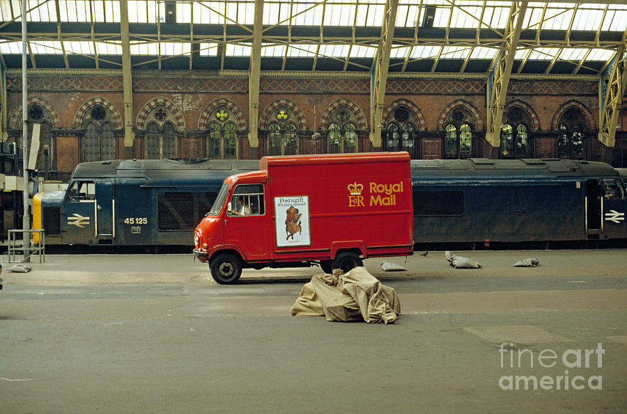 Station Photograph - The Old St. Pancras Station by David Davies