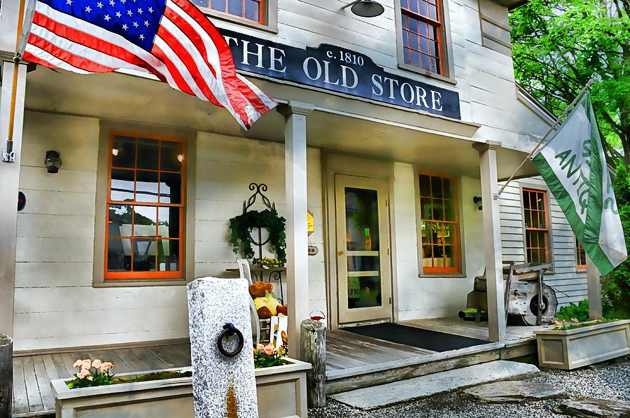 Store Photograph - The Old Store by Diana Angstadt