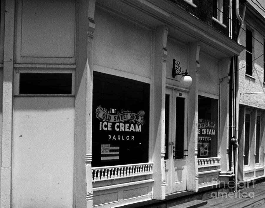 Ice Cream Photograph - The Old Sweet Shop by   Joe Beasley