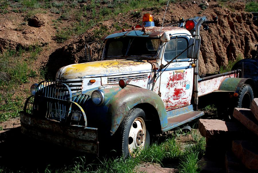 Truck Photograph - The Old Truck by Dany Lison