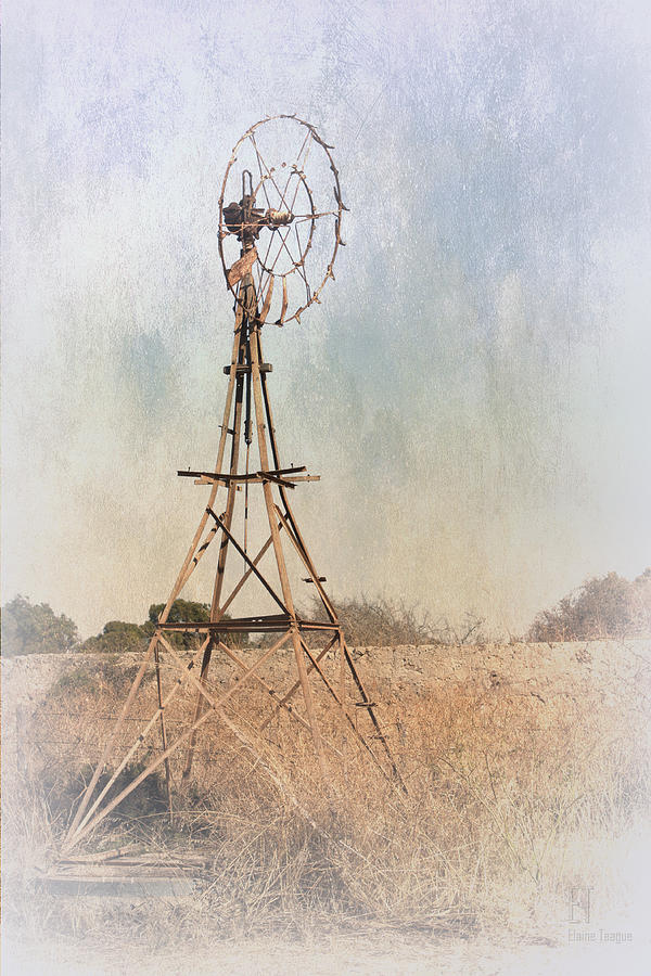 Windmill Photograph - The Old Windmill by Elaine Teague