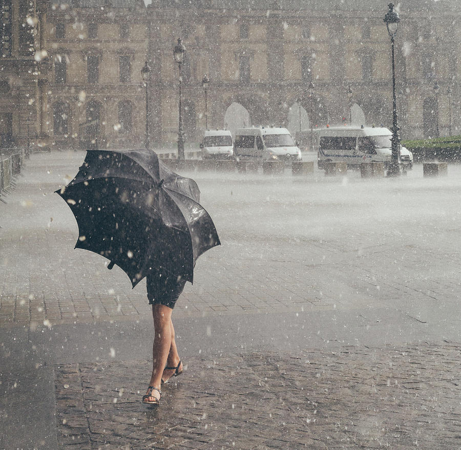 Weather Photograph - The One From Paris by Nate Clark