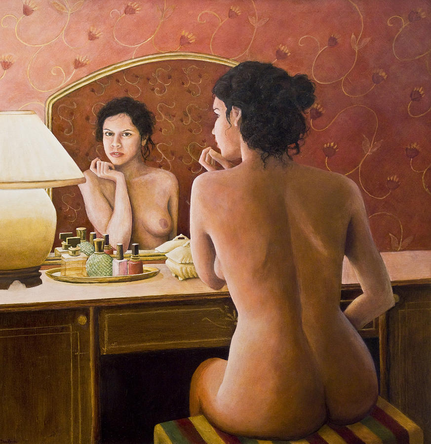 Nude Painting - The Open Secret by Don Perino
