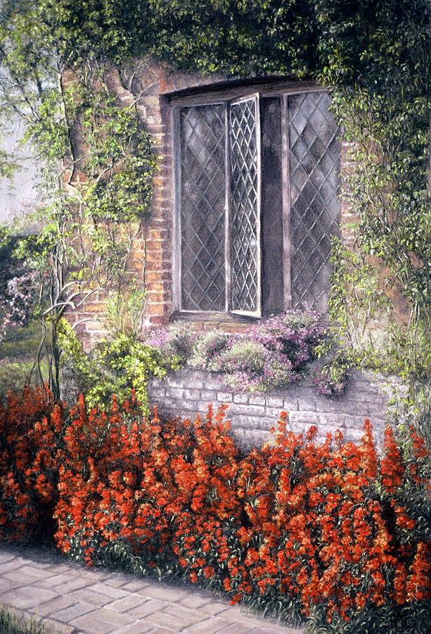 Window Painting - The Open Window by Rosemary Colyer